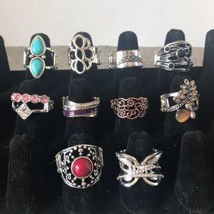 Paparazzi Rings lot of 10